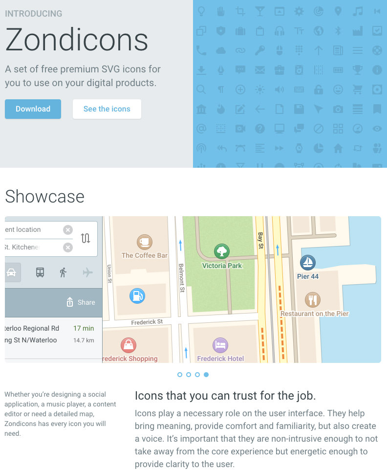 Zondicons iconset
