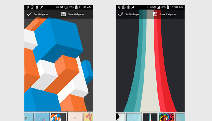 Top 10 Free Wallpaper Apps For IOS Android Devices