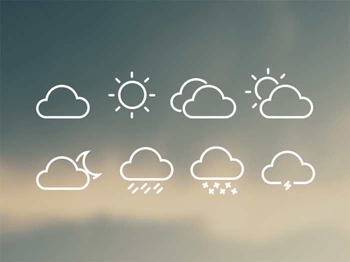 cloudy-weather-icons