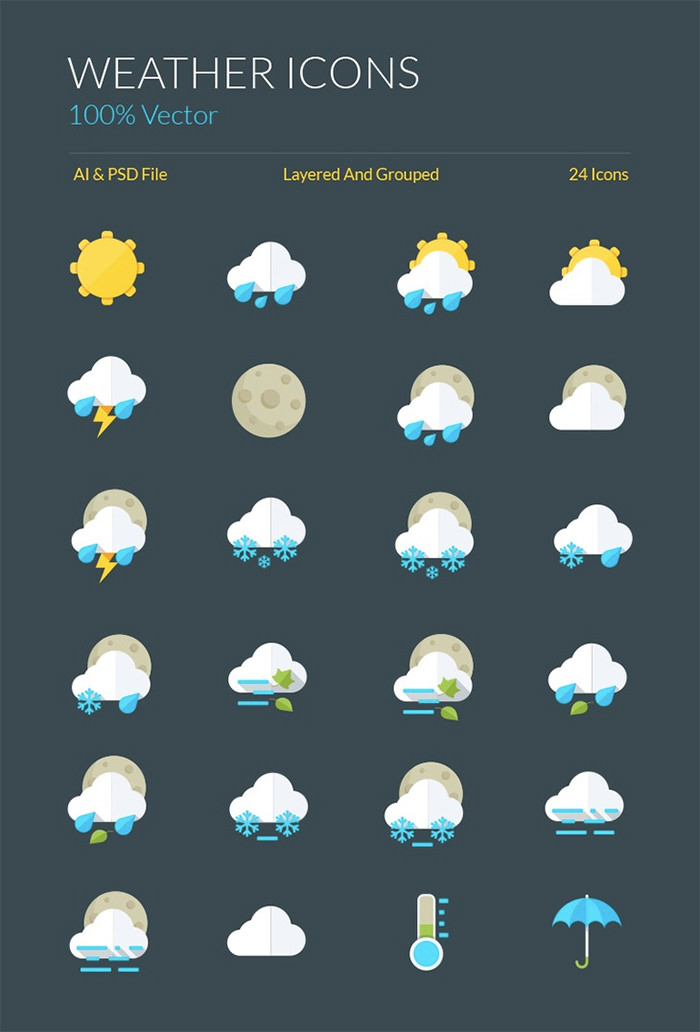 vector-weather-icons