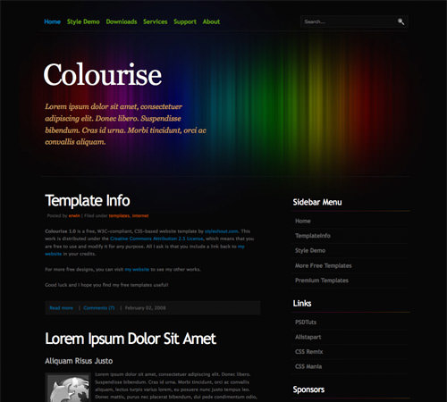 60 high quality free web templates and layouts hongkiat pronofoot35fo Choice Image