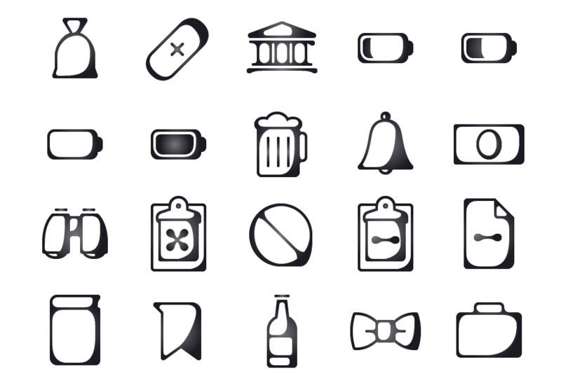 Inkallicons: 150 Ink Line Style Icons