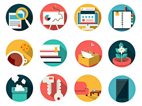 Office and Business Vector Icon Pack