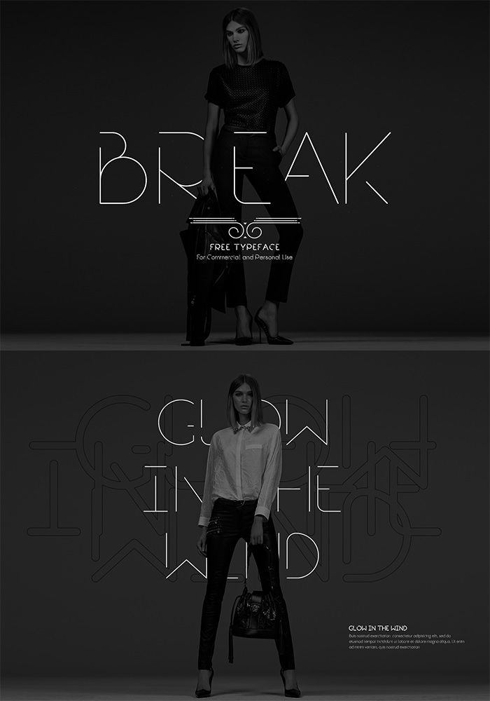 break-font