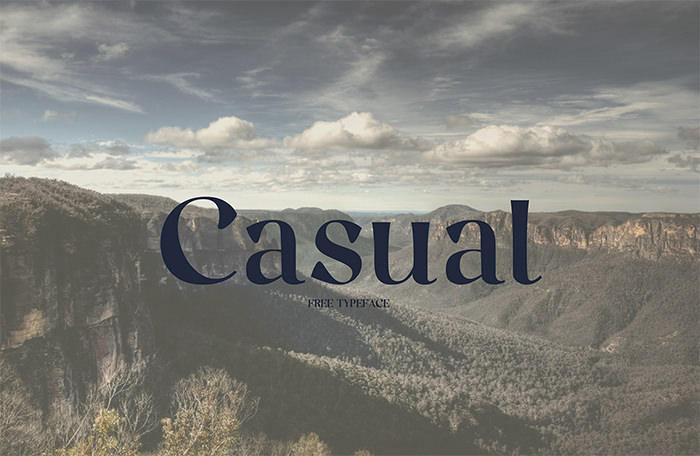 casual-font