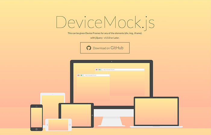 Create Device Mockup with JavaScript