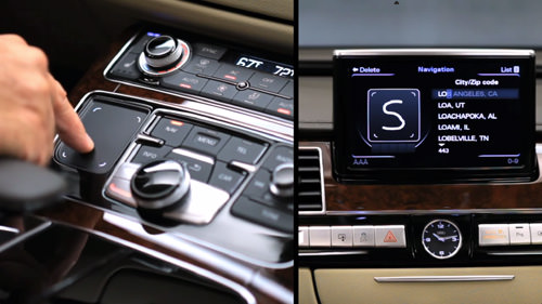 audi touch