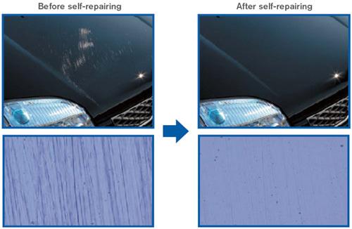 Self-Healing Paint