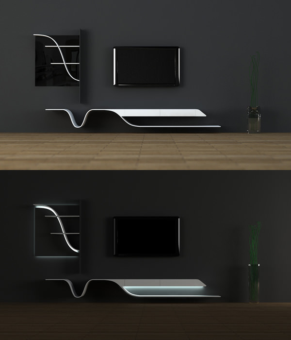 Melting Point TV Stand