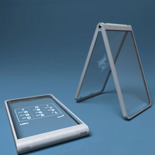 Glass phone concept