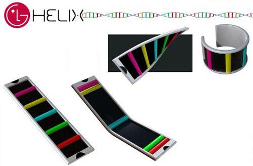 LG Helix Bracelet Phone