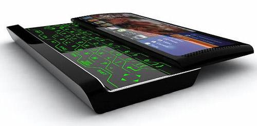 Multimedia concept phone