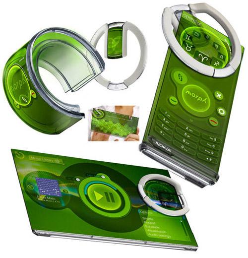 Nokia Morph Cell Phone Concept