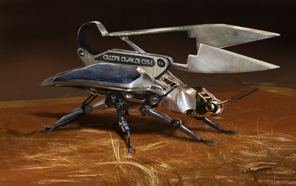 Robot Scissor Bug