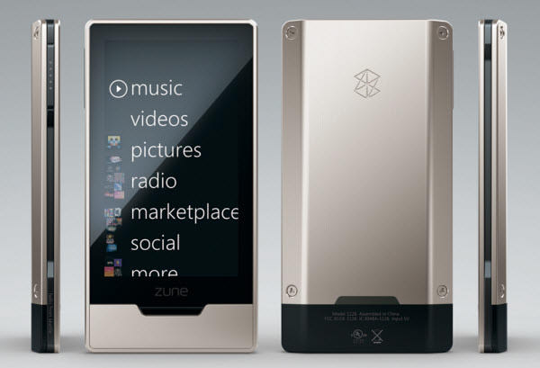 microsoft zune hd: before