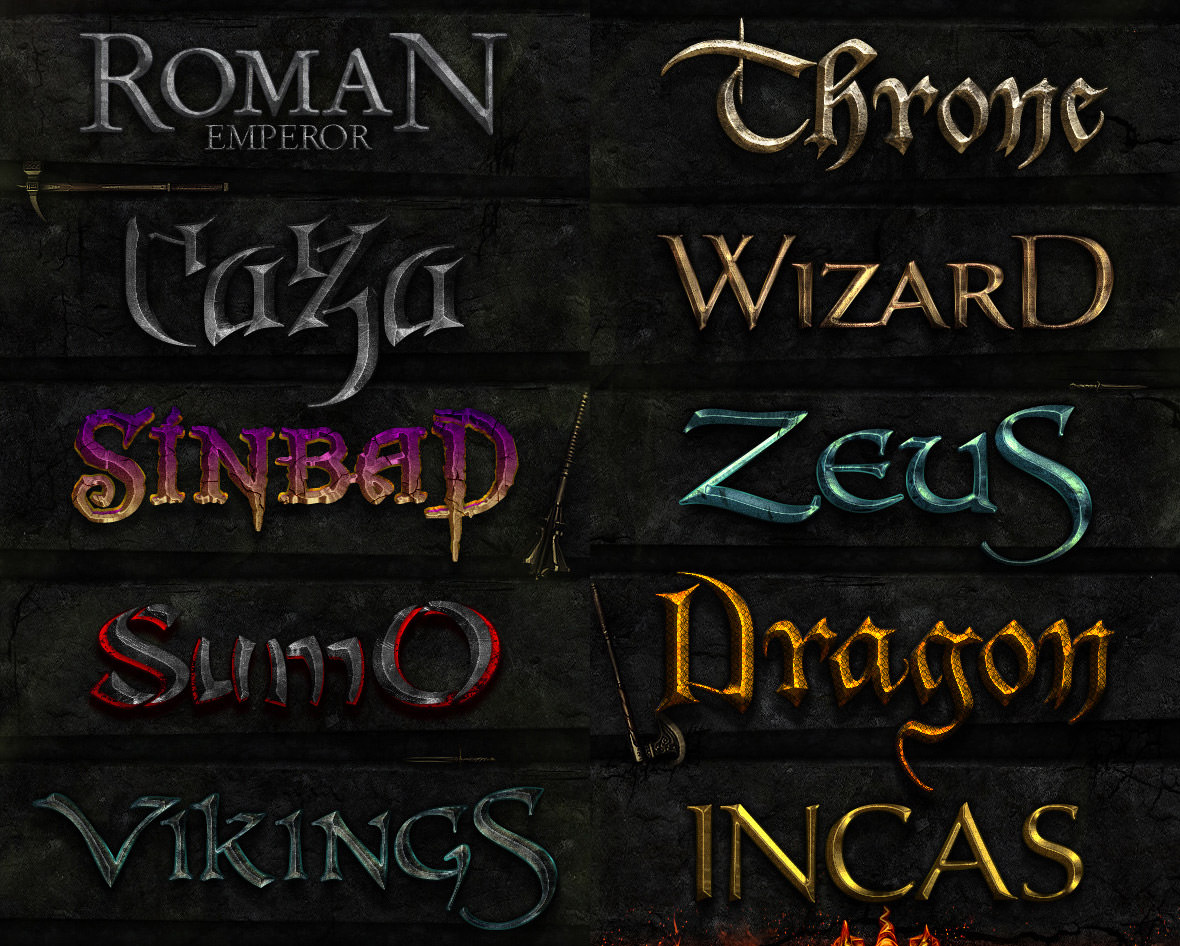 Best Game Of Thrones Fonts Amp Text Effects So Far Hongkiat