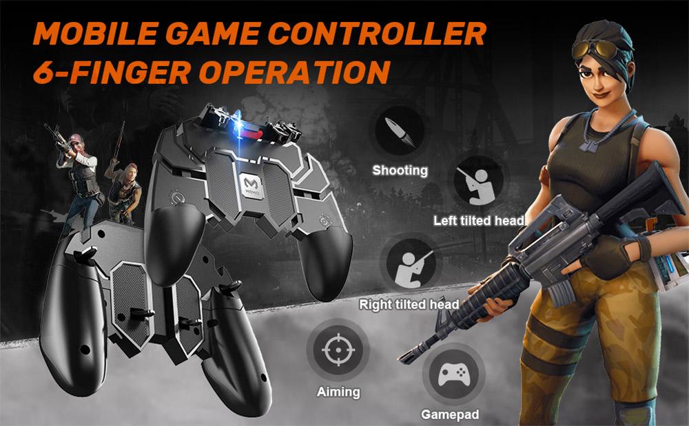 DELAM's Mobile Game Controller