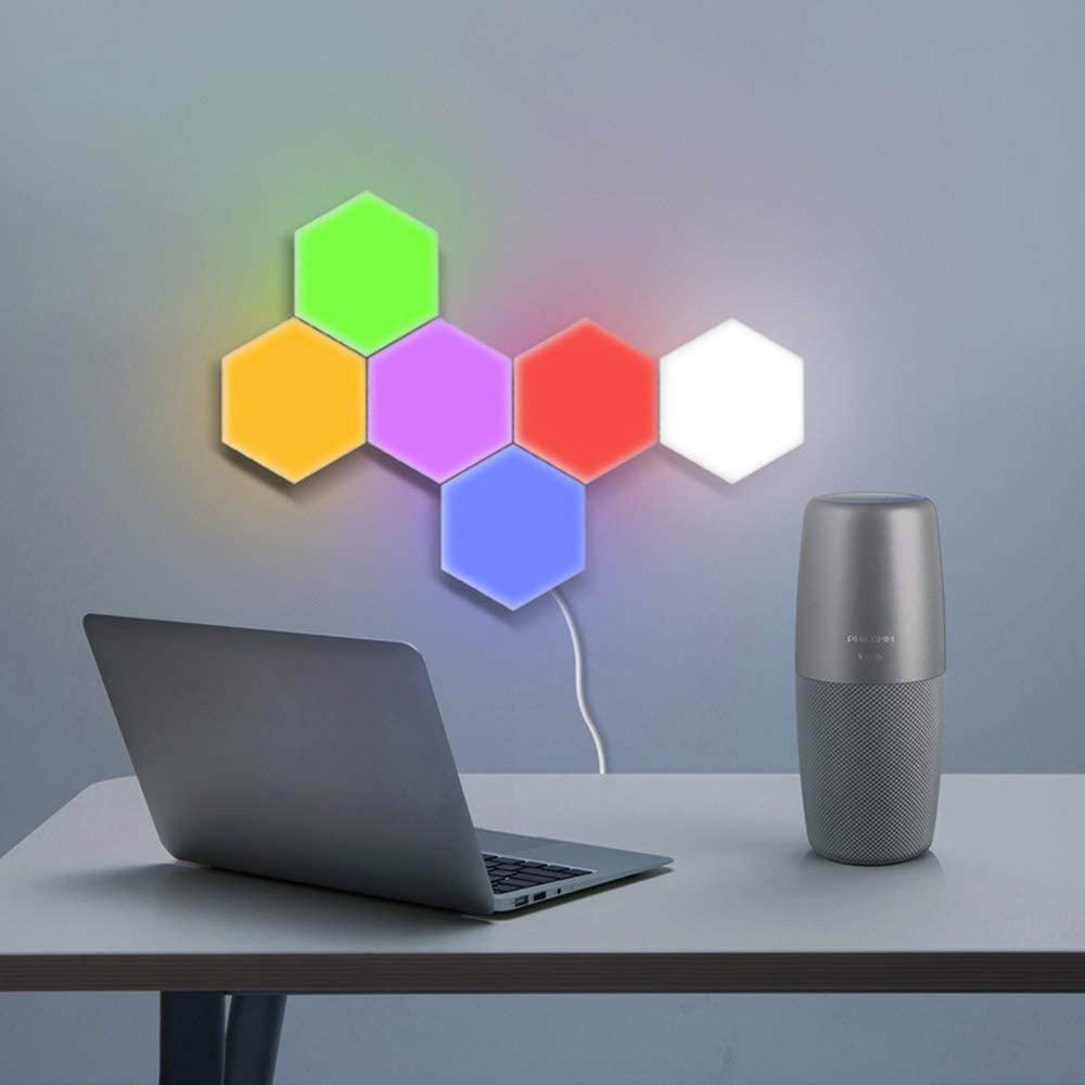 DISTAR's Remote Control Hexagon Wall Lights