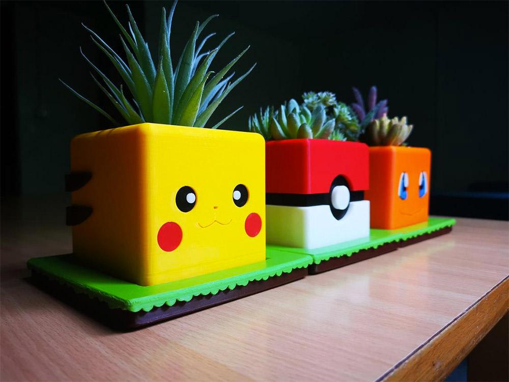 Pokemon Planter Set