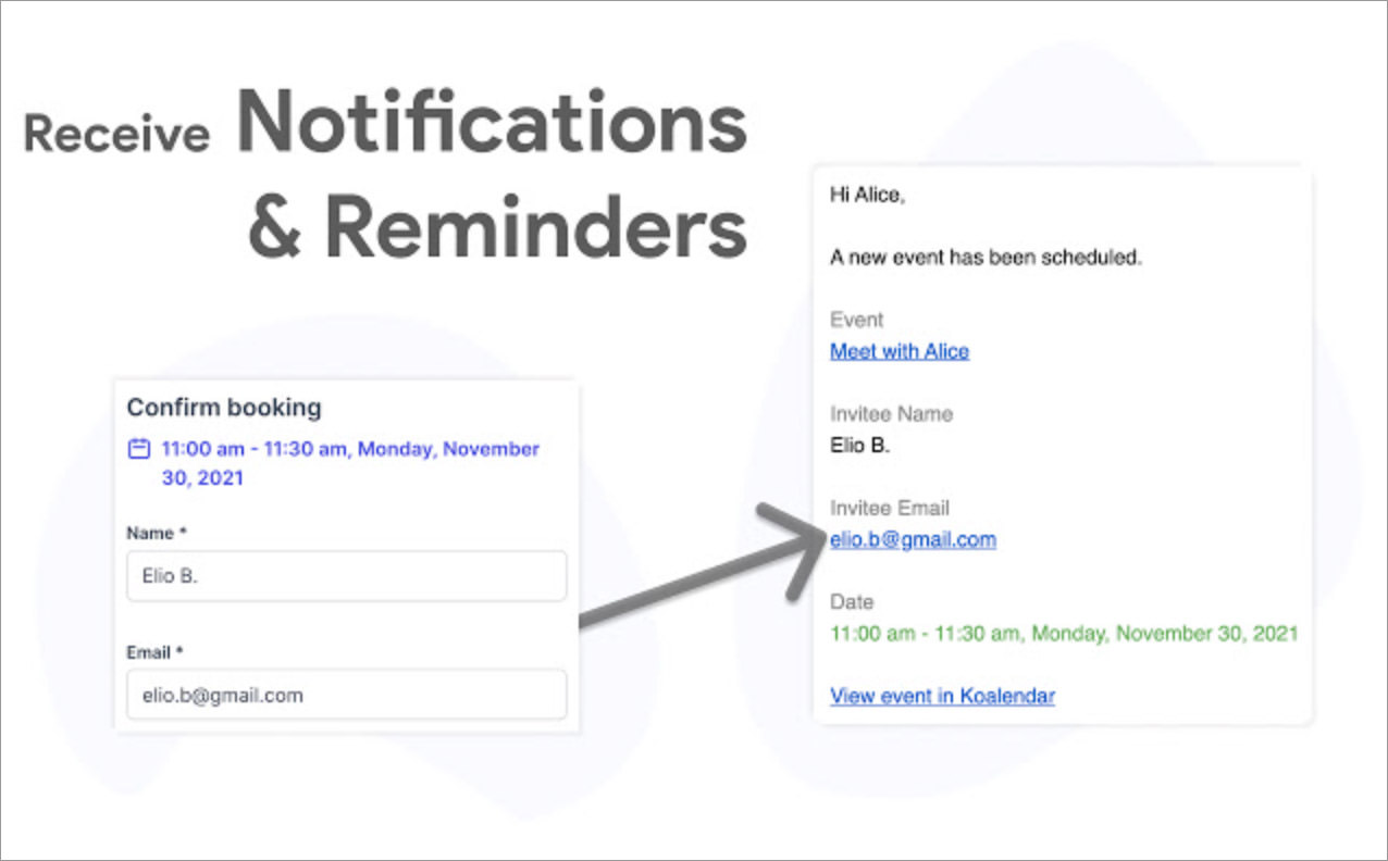 Appointment Scheduling for Google Calendar