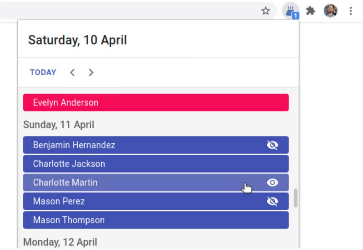 Birthday Calendar Exporter for Facebook