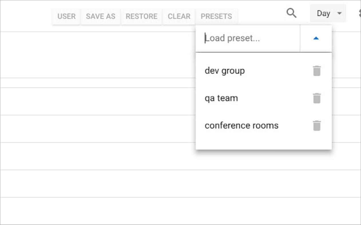 Calendar Selector for Google Calendar