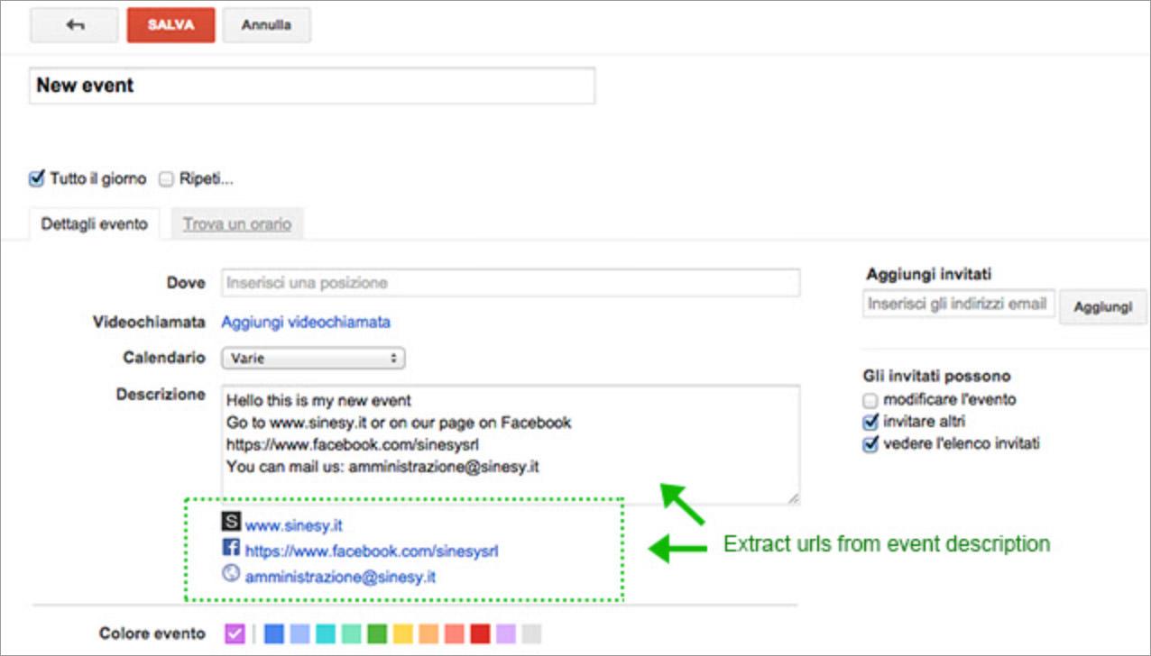 Calendar + for Google Chrome