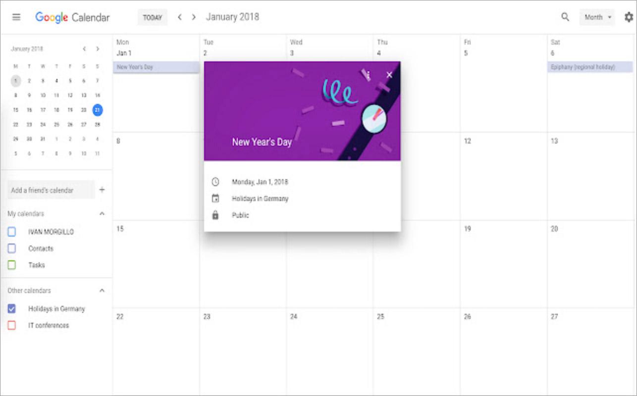 Google Calendar Scroll Disabler