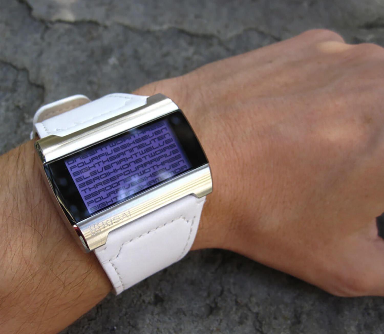 Kaidoku LCD Watch