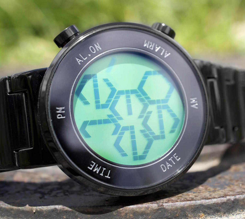 Zone LCD Watch