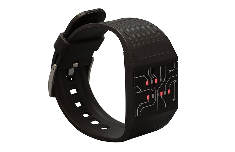 getDigital Binary Wrist Watch