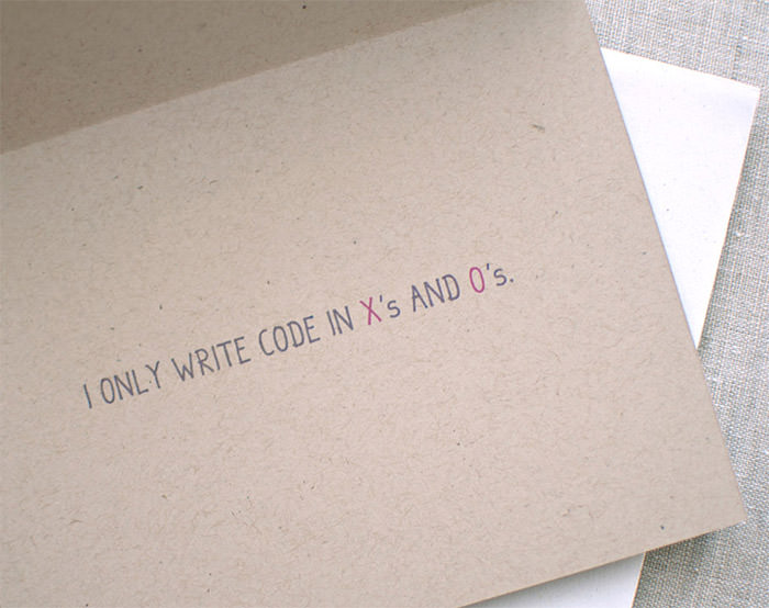 50 Geeky Valentines Day Cards Youd Love to Receive Hongkiat – Messages to Write in Valentines Cards