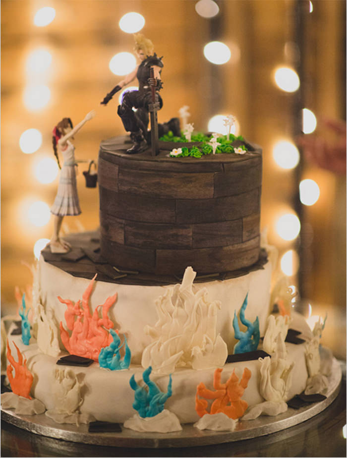 45 Creative Wedding Cake Designs You Dont See Often - Cool Wedding Cakes