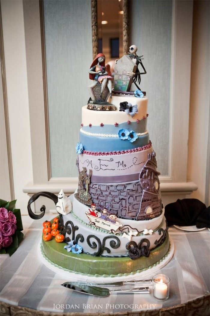45 Creative Wedding Cake Designs You Don\'t See Often - Hongkiat