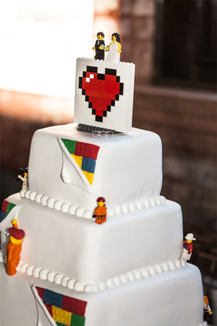 45 Creative Wedding Cake Designs You Dont See Often - Coolest Wedding Cakes