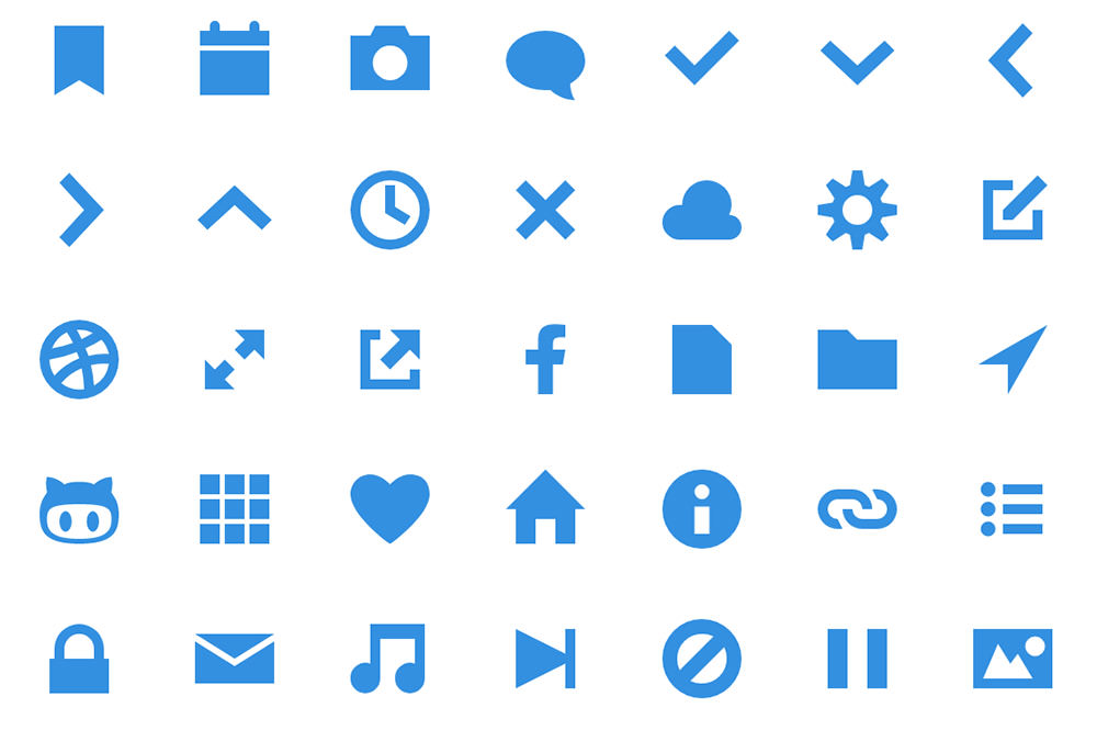 geomicons svg iconset