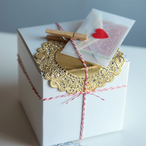 DIY Gift Wrap Packaging Kit