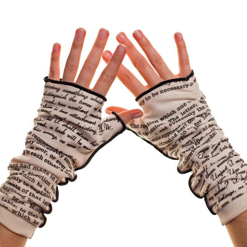 Fingerless Writing Gloves
