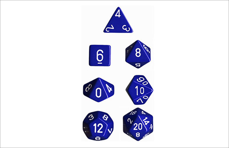 Chessex Polyhedral 7-Die Set