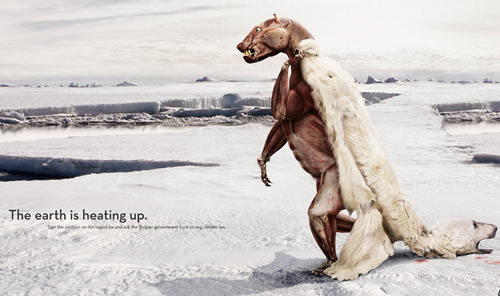 global warming poster ads