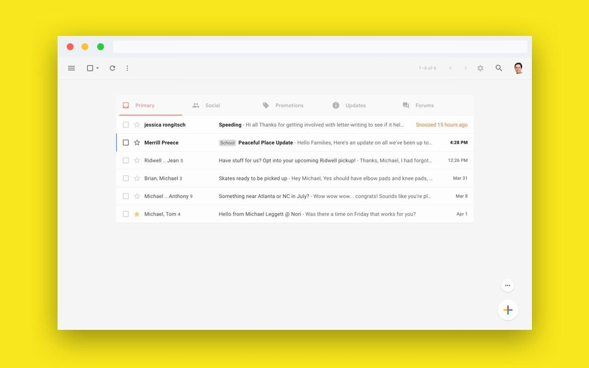 Simplify Gmail for Google Chrome
