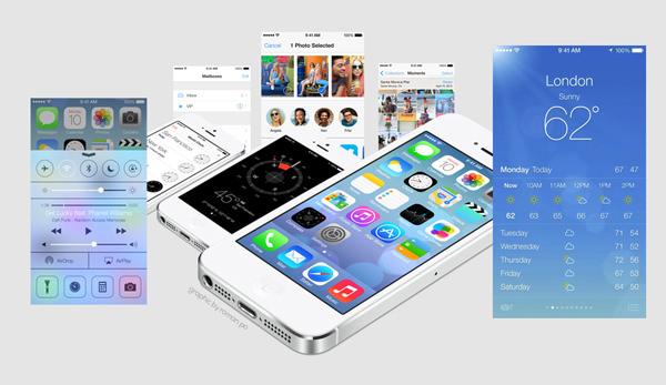 google-microsoft-apple-flat-design