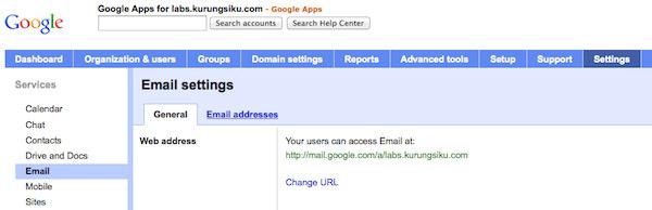 set address