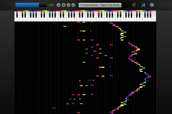 Color Piano! - Chrome App