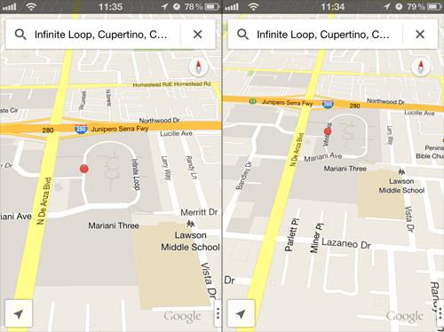 3D Maps View
