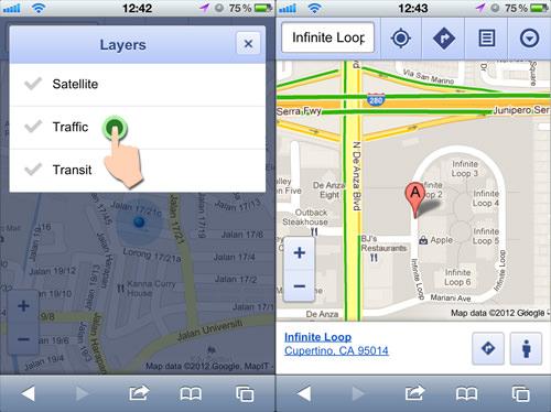 Google Maps Layers
