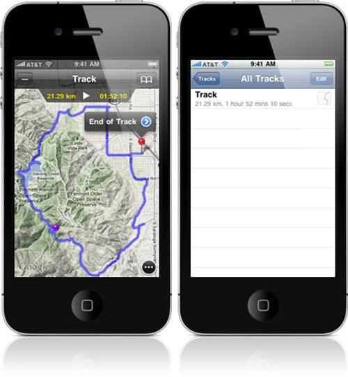 Map Plus Track