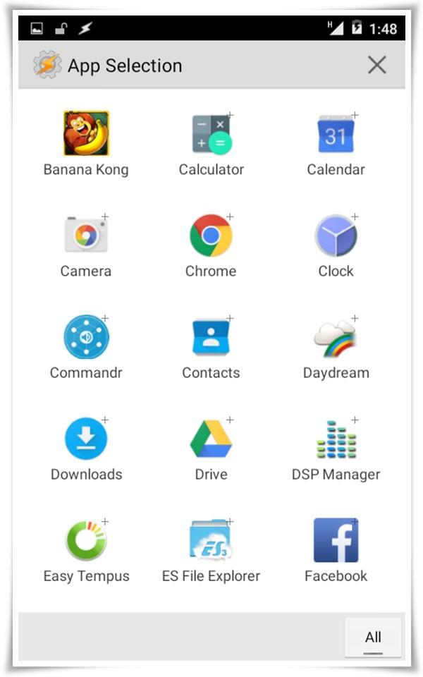 select app