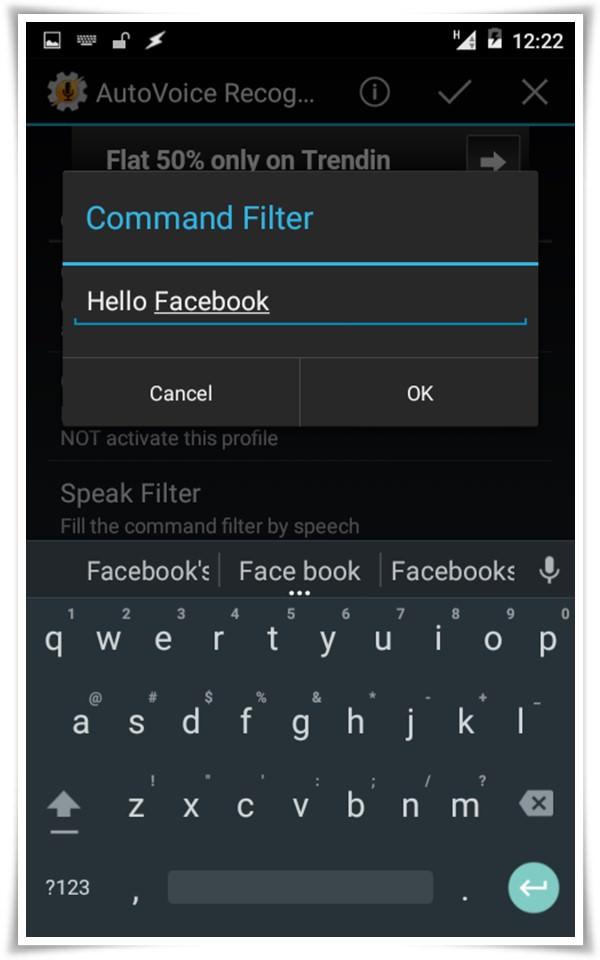 set autovoice event command