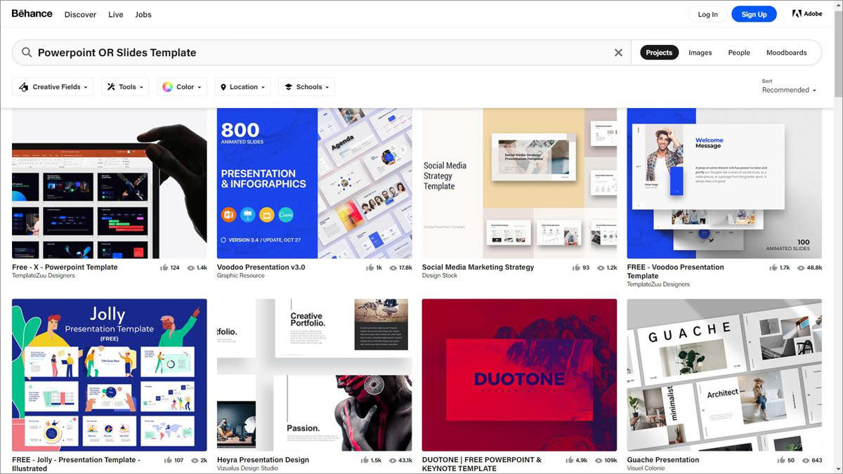 Behance - a social media platform for creatives
